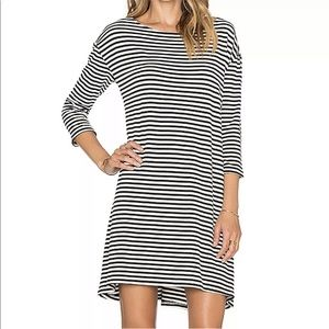 BB Dakota Womens Disa Dress Striped Tunic
